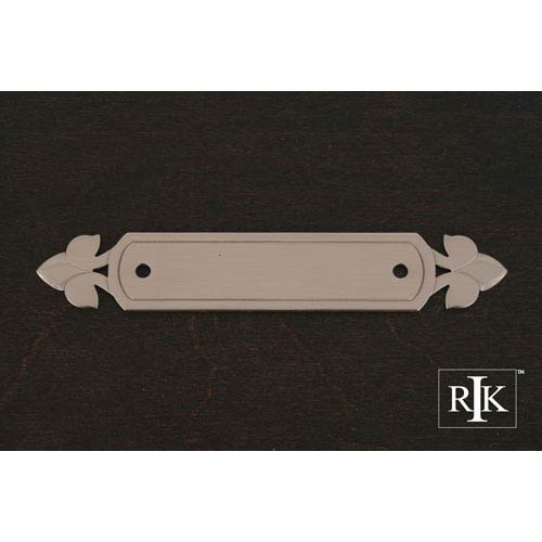 RK International Inc Pewter Backplate with Spade Ends
