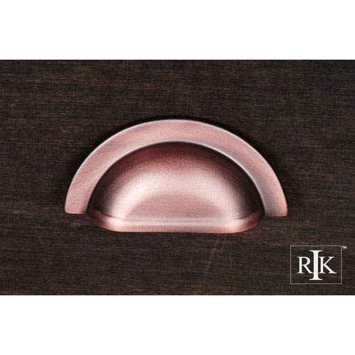 RK International Inc Distressed Copper Smooth Half Circle Cup Pull