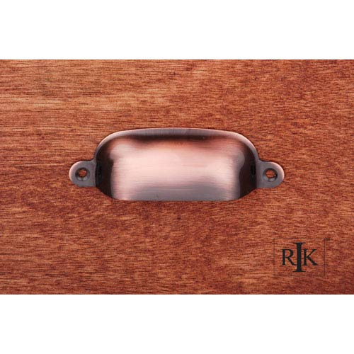 RK International Inc Antique Copper Flat Box Cup Pull
