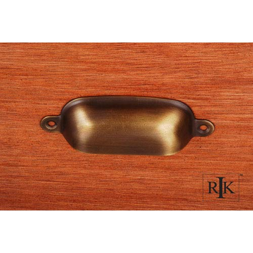 RK International Inc Antique English Flat Box Cup Pull