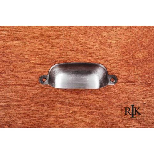 RK International Inc Distressed Nickel Flat Box Cup Pull