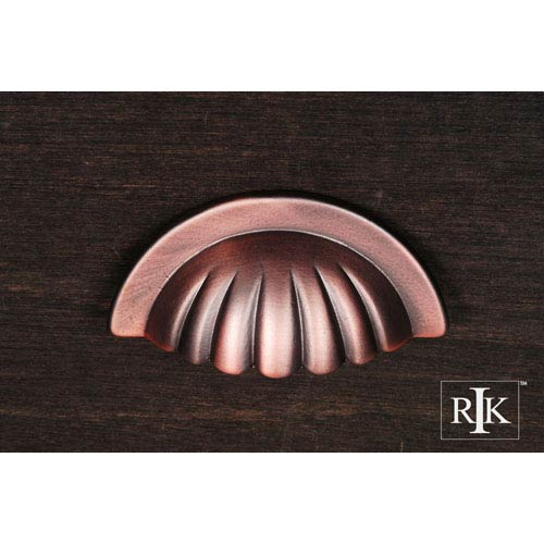 RK International Inc Distressed Copper Heavy Half Melon Cup Pull