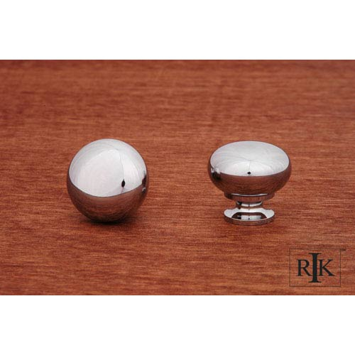RK International Inc Chrome Mushroom Knob