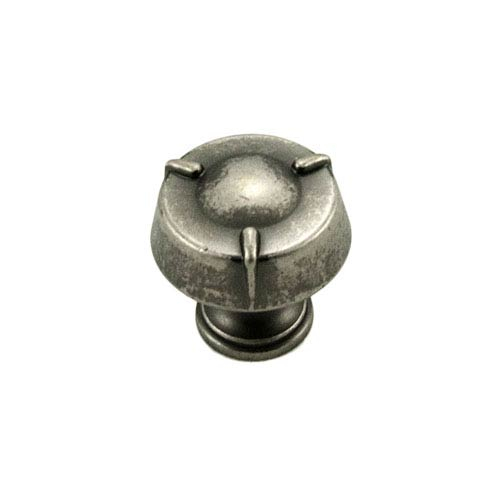 RK International Inc Fullerton Weathered Nickel Small Fullerton Knob