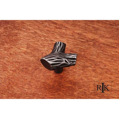 RK International Inc Distressed Nickel Branch Knob