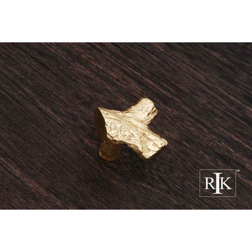 Polished Brass Branch Knob