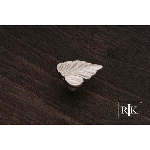 RK International Inc Pewter Leaf Knob