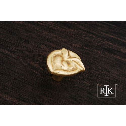 RK International Inc Polished Brass Pretty Wrap Knob