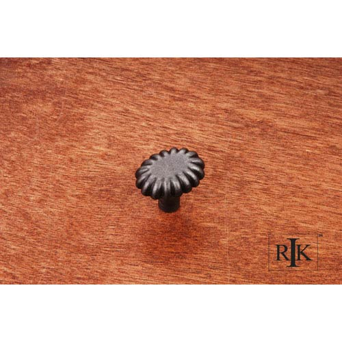 RK International Inc Distressed Nickel Lines at End Knob