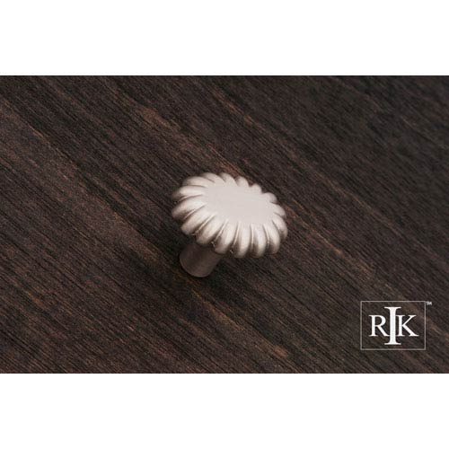 RK International Inc Pewter Lines at End Knob