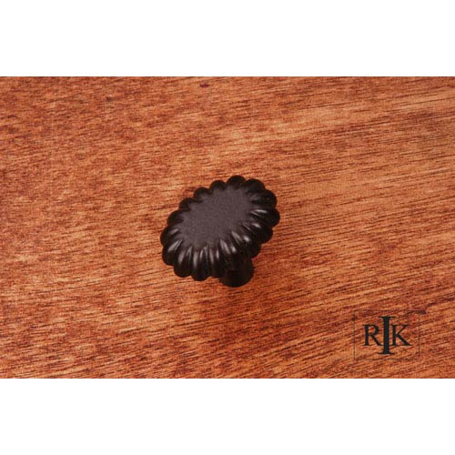 RK International Inc Oil Rubbed Bronze Lines at End Knob