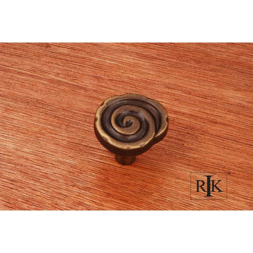 Antique English Swirl Knob