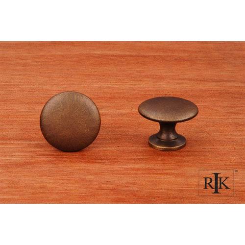 RK International Inc Antique English Flat Face Knob