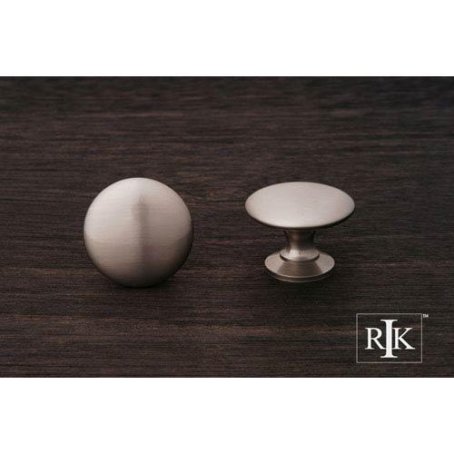 RK International Inc Pewter Flat Face Knob