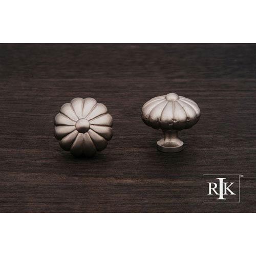 RK International Inc Pewter Melon Knob