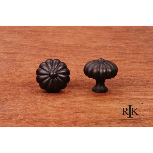 Oil Rubbed Bronze Melon Knob