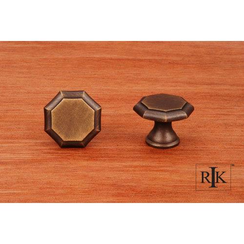 Antique English Octagonal Knob