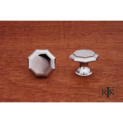 RK International Inc Chrome Octagonal Knob