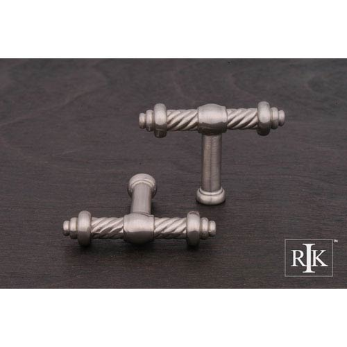 Pewter Small Twisted Knob
