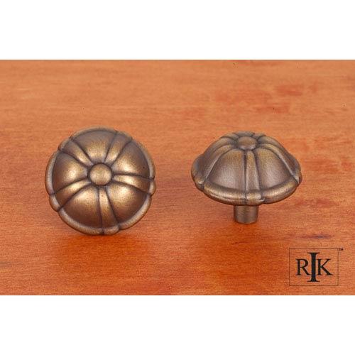 RK International Inc Antique English Large Petal Knob