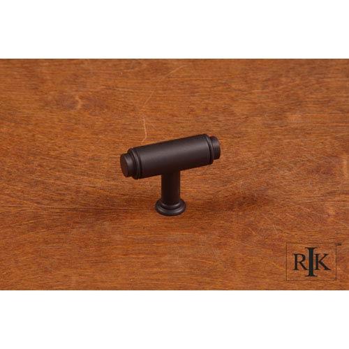 RK International Inc Oil Rubbed Bronze Large Cylinder Knob