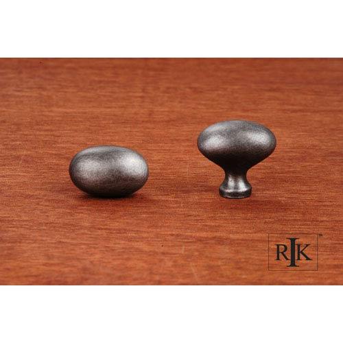 RK International Inc Distressed Nickel Football Knob