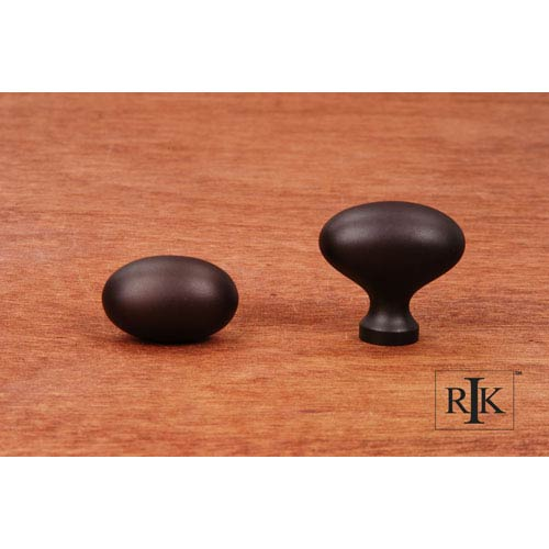 RK International Inc Oil Rubbed Bronze Oval Knob