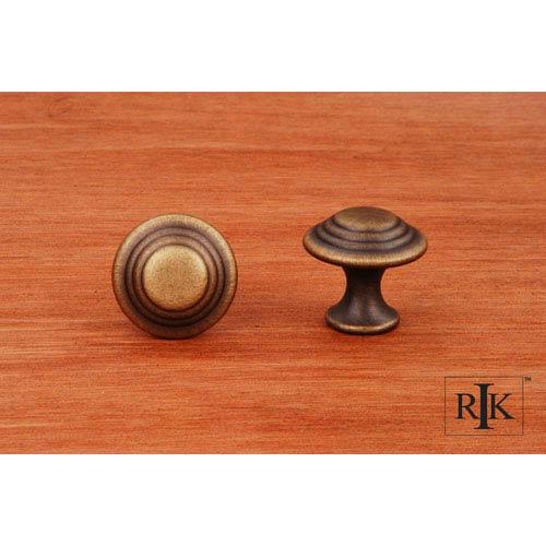 RK International Inc Antique English Step Up Beauty Knob