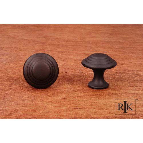 RK International Inc Oil Rubbed Bronze Step Up Beauty Knob