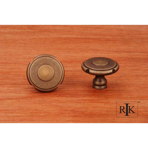 RK International Inc Antique English Truncated Edge Knob