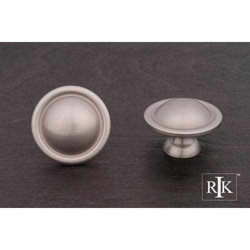 Pewter Smooth Dome Knob