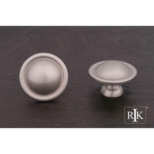 RK International Inc Pewter Smooth Dome Knob