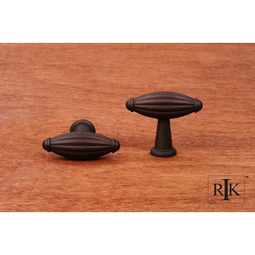 Oil Rubbed Bronze Small Indian Drum Knob