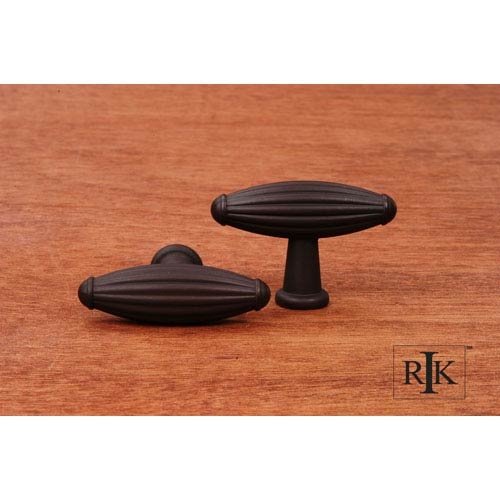RK International Inc Oil Rubbed Bronze Large Indian Drum Knob