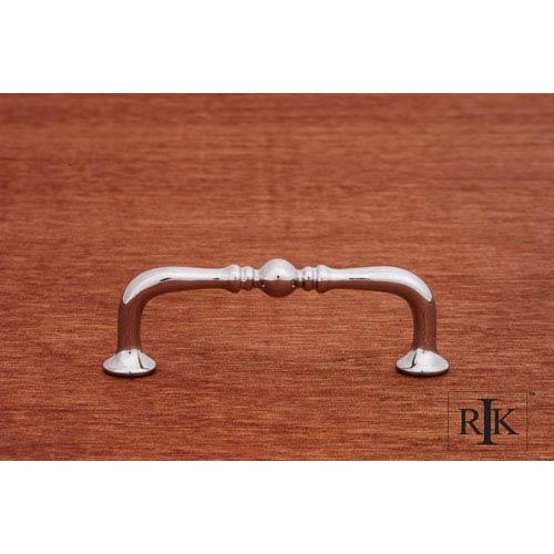 RK International Inc Chrome Decorative Elongated Colonial Pull