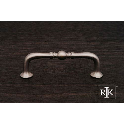 Pewter Decorative Elongated Colonial Pull