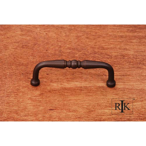 RK International Inc Oil Rubbed Bronze Decorative Curved Pull