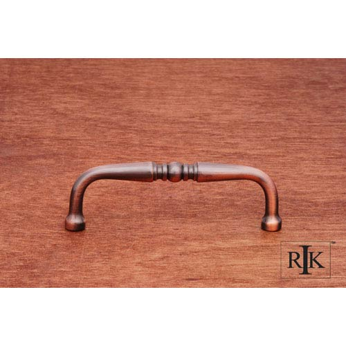 RK International Inc Antique Copper Decorative Curved Pull
