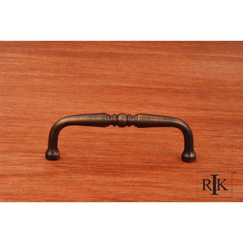 RK International Inc Antique English Decorative Curved Pull