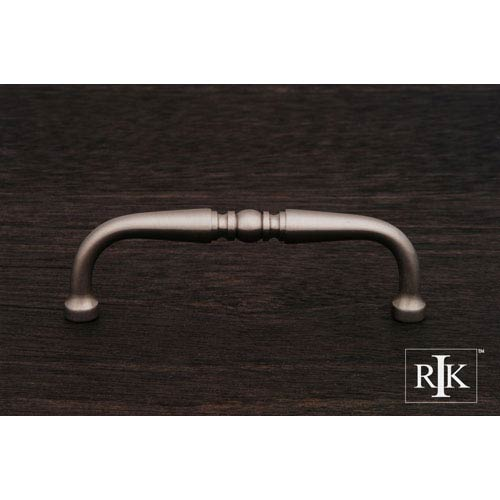 RK International Inc Pewter Decorative Curved Pull