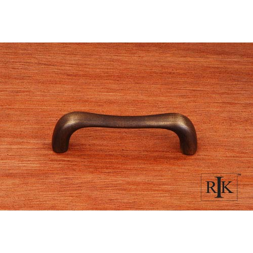 RK International Inc Antique English Contemporary Bent Middle Pull