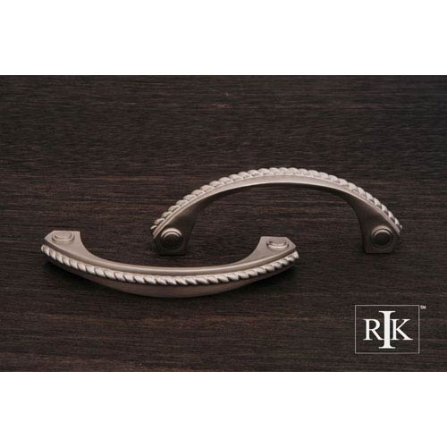 RK International Inc Pewter Rope Pull