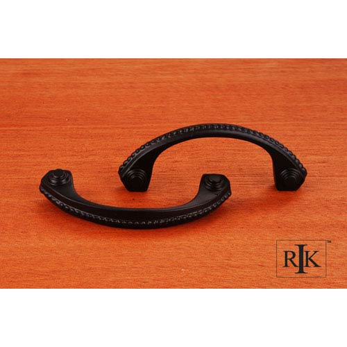 RK International Inc Black Beaded Bow Pull