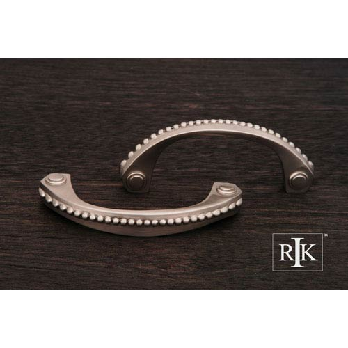 RK International Inc Pewter Beaded Bow Pull