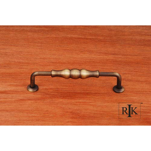 RK International Inc Antique English Beaded Middle Vertical Pull