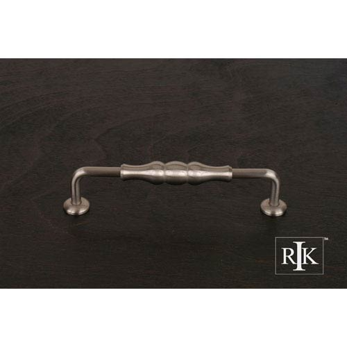 Pewter Beaded Middle Vertical Pull
