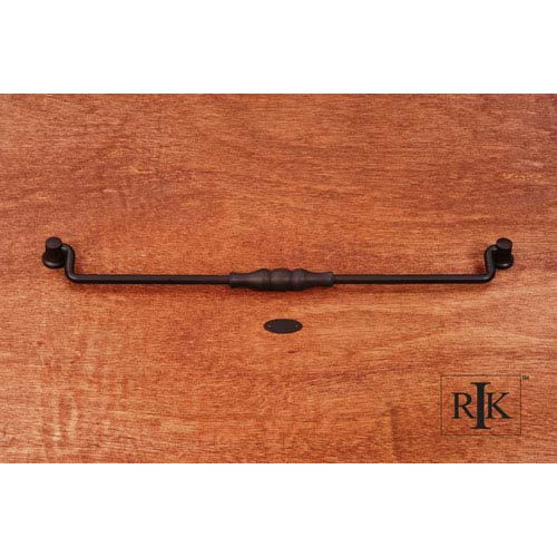 RK International Inc Oil Rubbed Bronze Beaded Middle Hanging Pull