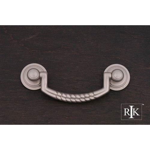 RK International Inc Pewter Split Rope Bail Pull