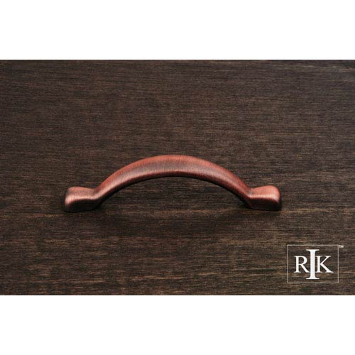 RK International Inc Distressed Copper Smooth Decorative Bow Pull