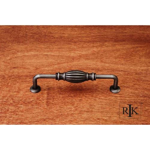 RK International Inc Distressed Nickel Indian Drum Vertical Pull